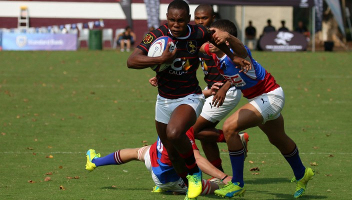 Dale College Try Scorer Centre Siphamandla Matsinya In The Game Against Framesby 704x400